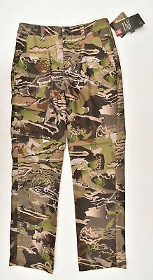 UNDER ARMOUR UA Boys' Kids' STORM Hunting Field Cargo Pants, size 14 Years