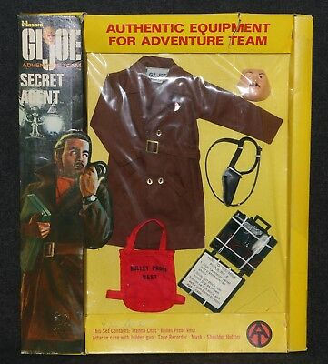 GI Joe 1971 Adventure Team #7375 MOC Adventure Team Secret Agent