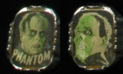 Universal Monsters Phantom of the Opera 1960s Flicker Ring Green Tint Lon Chaney