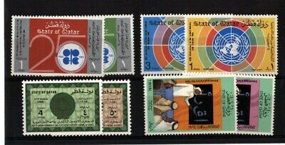 Qatar Early Mnh Collection A62