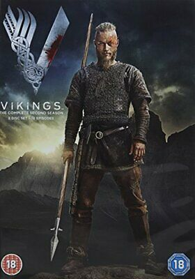 Vikings - Season 2 [DVD] [2013] By Travis Fimmel,Clive Standen.