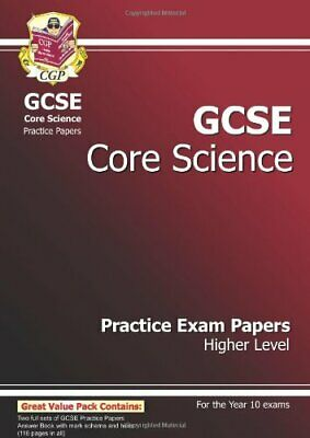 GCSE Core Science Practice Papers - Higher By CGP Books