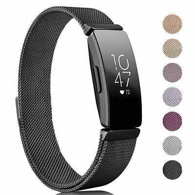 Milanese Magnetic Metal Watch Band For Fitbit Inspire / Inspire HR