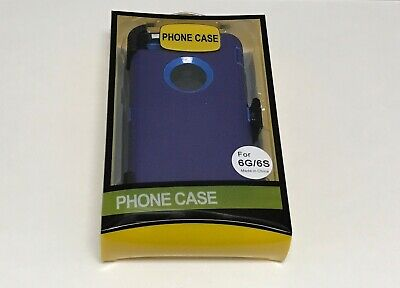 For Apple iPhone 6/6S Case Cover(Clip fits Otterbox Defender series)Blue