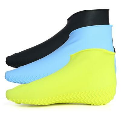 Waterproof Reusable Durable Rubber Rain Boot Shoe Covers Anti-slip Over shoes