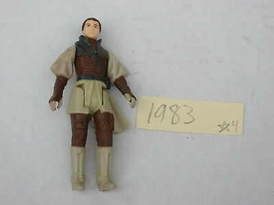 1983 Vintage Boushh Princess Leia Organa Carrie Fisher Action Figure Taiwan COO