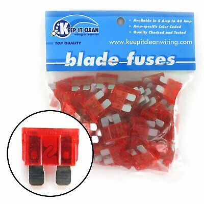 Universal 8 ATC Fuse Block with Cover Keep It Clean KICKFB1 truck custom muscle