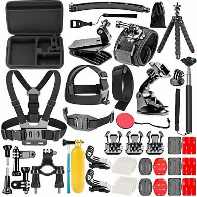 50 In 1 for Gopro Camera Outdoor Sports Bundle Kit Set Camera Accessories QJ