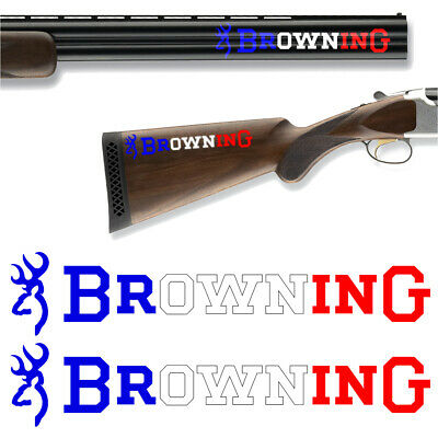 2x Browning France Vinyl Decal Sticker. 4 sizes to choose from