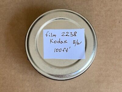SALE RARE! 100' ft Roll KODAK 2238 Panchromatic Black & White FILM 35 mm