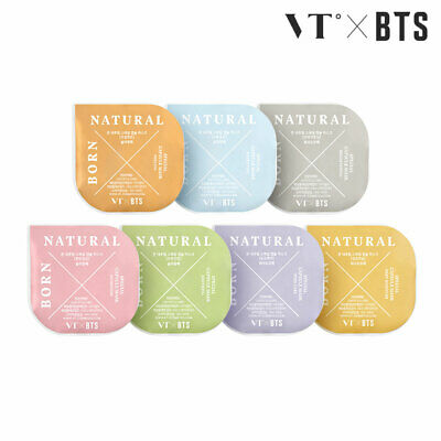 VT BTS BORN NATURAL SPECIAL CAPSULE MASK KIT 5ml x 7ea + Tracking Number
