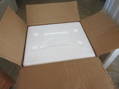 14 by 12 by 13 Inch Insulated Shipping Cooler, 1.5 Inch Interior Sides!