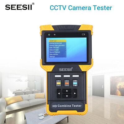 """DT-T70 1080P IPC Camera Tester Security Analog Combine Test 4"""" Video AC100-240V"""