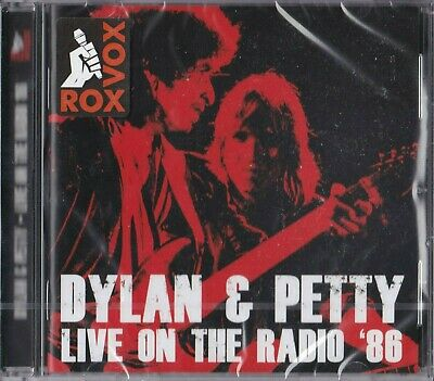 DYLAN & PETTY - Live on the Radio '86 ( 2015 cd / Brand new & sealed)