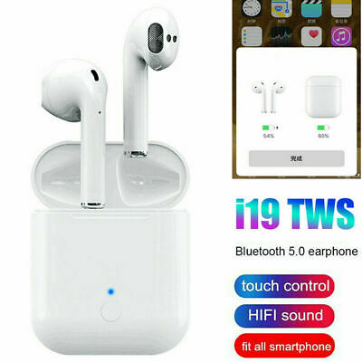 i19 i16 i14 TWS Bluetooth 5.0 Earbuds Earphone Headset Touch Control Headphone