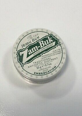 ZAM BUK 20g Tin Makoya Antiseptic Ointment Herbal for Ailments Minor Wound Burns