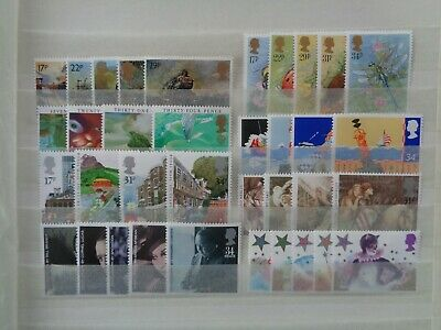 GREAT BRITAIN 1985 COMMEMORATIVE STAMPS YEAR SET MNH MINT 8 x SETS 36 x STAMPS