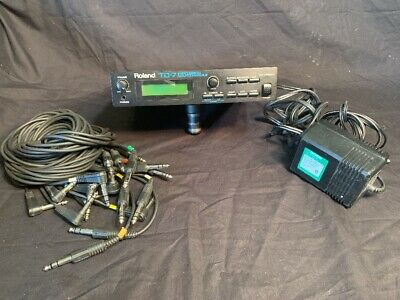 Roland TD-7 Electronic Drum Percussion Sound Module Power Cord And Wires