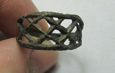 Vikings - Slavs  ring   Ancient Bronze  100% original