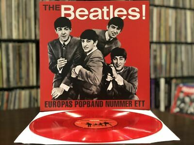 The Beatles- EUROPAS POPBAND NUMMER ETT Vinyl LP