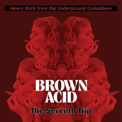 Brown Acid: The Seventh Trip Rollin' Records Exclusive Clear/Blue Swirl
