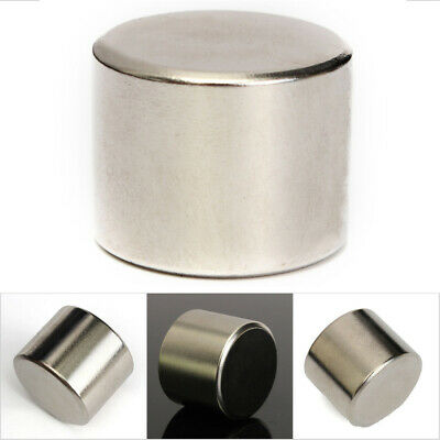 Super Strong Round Cylinder Rare Earth Magnet Disc NdFeB Neodymium N52 25x20mm