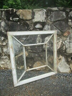 Vintage farmhouse antique sash 5 pane 32x32 wood window pinterest frame 255
