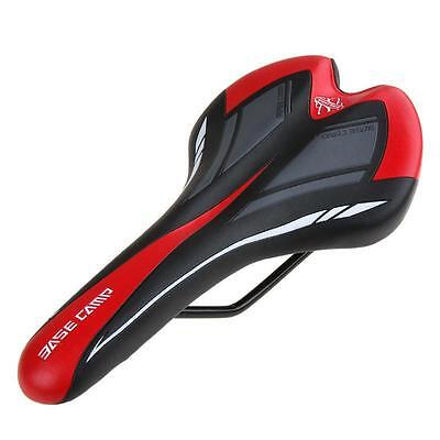 Comfort PU Leather Bike Cushion Seat Ergonomically Breathable MTB Cycling Front