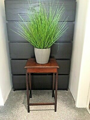 Antique Mahogany Waring & Gillow Ltd Side Coffee Table Hallway Plant Pot Stand