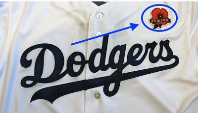 MLB Lest We Forget Patch Memorial Day 2019 MLB Baseball Patch For Jersey Dodgers