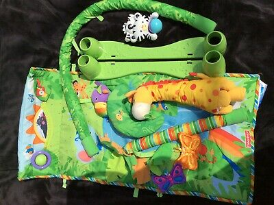 Baby Fisher Price Jungle Rainforest Activity Play Arch / Gym Experience Mat