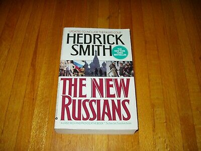 The New Russians - NY Times Bestseller by Hedrick Smith   Free Shipping
