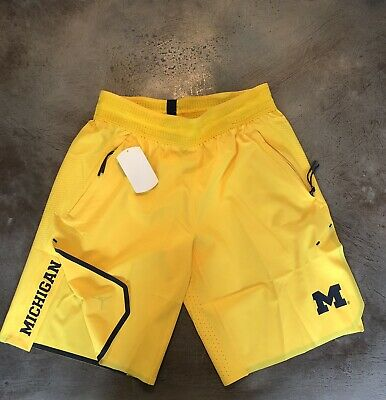 ed269cd944e New Jordan Jumpman Nike - University Of Michigan U Of M Tech Short Yellow  Large