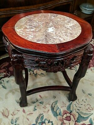 Beautiful Antique Chinese Carved Rosewood Table! Huanghuali?? Zitan??
