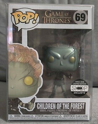 Funko Pop Metallic Children of the Forest #69 HBO NYCC Exclusive IN HAND!