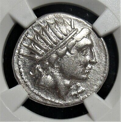 Ancients: Man. Aquillius (109-108 BC). AR denarius (3.88 gm). NGC XF 4/5 - 3/5.