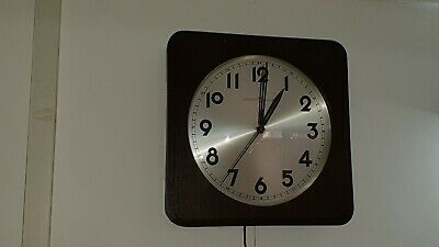 Colectible Vintage Wall Junghans Synchron Clock