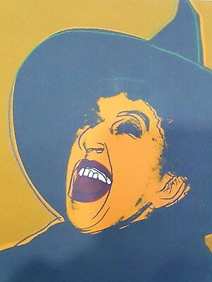 Andy Warhol, The Witch 1981, Hand Signed Lithograph