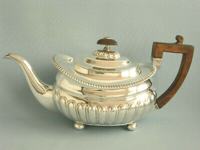 Stilvolle Teekanne  London 1811, Massiv Sterlingsilber, 1,2 Liter, George Iii.
