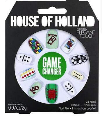HOUSE OF HOLLAND False Nails - Game Changer (10 Sizes - 24 Nails)