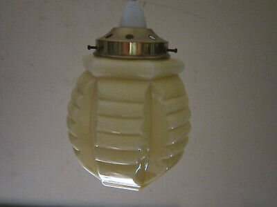 Vintage Lamp Shade Art Deco Style Retro Antique