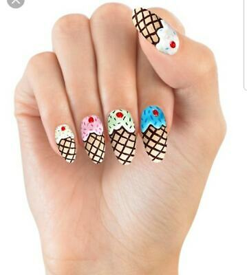 HOUSE OF HOLLAND False Nails - Sweet Tooth (10 Sizes - 24 Nails)