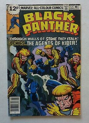 Black Panther 12 Marvel Comics Bronze Age 1978 VFN+/NM- Condition Jack Kirby