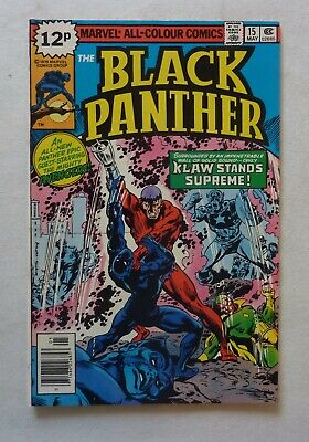 Black Panther 15 Marvel Comics Bronze Age 1979 NM- Condition Jack Kirby Run