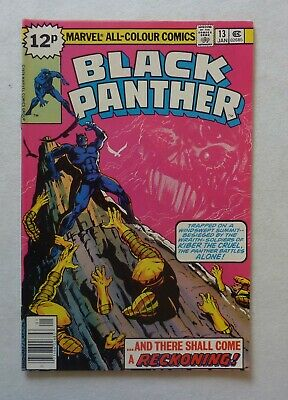 Black Panther 13 Marvel Comics Bronze Age 1979 NM- Condition Jack Kirby Run