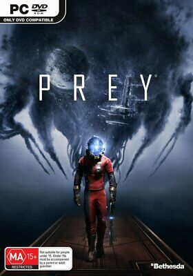 Bethesda Softworks Prey PC Game Playing Action Adventure Gameplay Video Games
