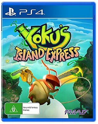 SoldOut Yoku's Island Express PlayStation 4 PS4 Gaming Playing Video Games