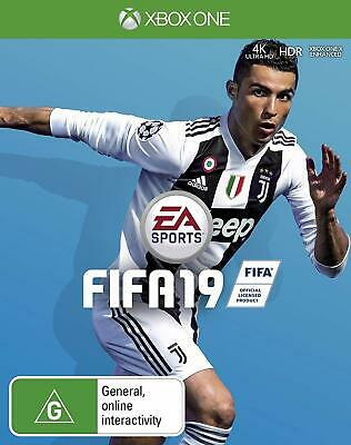 FIFA 19 Xbox One Gaming Playing Football Simulation Gameplay Video Games