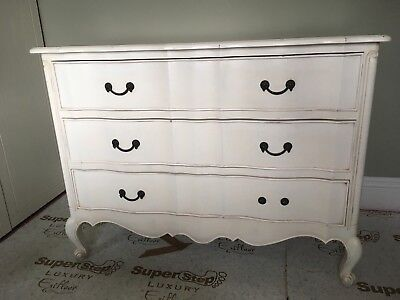 Chateau Louis XV Chest Of Drawers Shabby Chic French Carved Styling Coach House