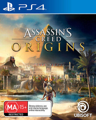 Assassin's Creed Origins PS4 Playstation 4 Brand New Sealed Free Post AU Stock